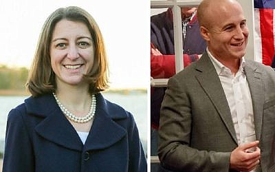 Elaine Luria and Max Rose