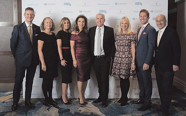 Norwood's annual fundraising dinner, Picture credit: Blake Ezra Photography .