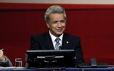 President Lenin Moreno. Credit: Wikimedia Commons - https://www.flickr.com/search/?user_id=50197436%40N08&view_all=1&text=Len%C3%ADn%20Moreno)