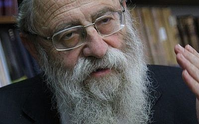 Rabbi Aryeh Stern. Source: Wikimedia Commons. Credit:  Boaz Lev- Ari