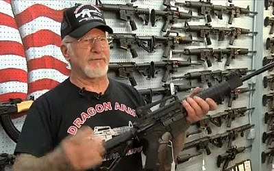 Local shopkeeper Mel Bernstein has offered to donate free rifles to rabbis in Colorado