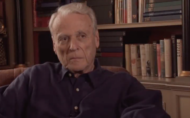 IMG WILLIAM GOLDMAN, American Novelist, Playwright, and Screenwriter