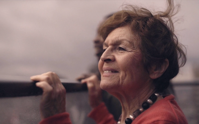 86-year old Holocaust survivor Janine Webber featured in a music video in November, titled 'Edek' in reference to her savior