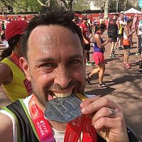 Jewish donor Simeon Barnett, who ran the London Marathon to raise money for the Anthony Nolan charity, is now up for a supporters' award