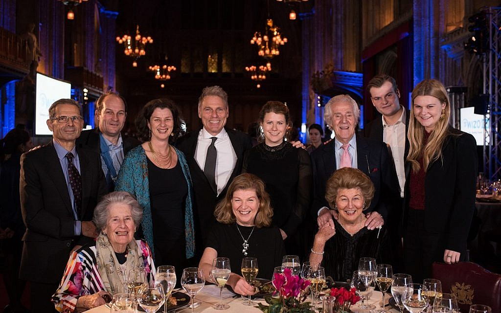 The Sieff Family: WIZO UK centenary dinner. Credit: Blake Ezra