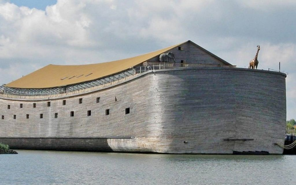 The real-life Noah's Ark in harbour