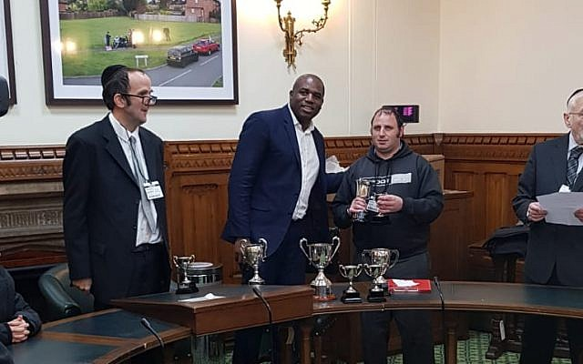 David Lammy and Eli in the House of Commons
