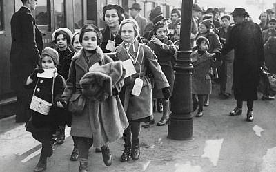 Jewish Children Refugees Arriving From Germany In London On February 1939  (Photo by Keystone-France/Gamma-Keystone via Getty Images)