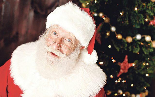 Santa Rick! An orthodox Jewish Santa Claus