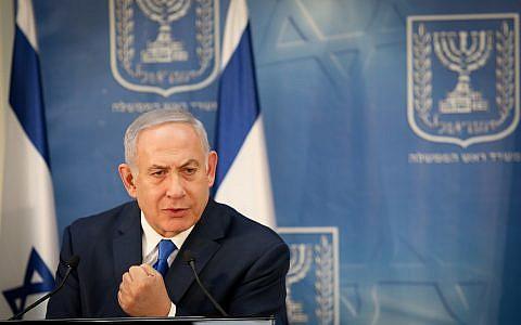 Israeli Prime Minister Benjamin Netanyahu, December 4, 2018. Photo by: JINIPIX