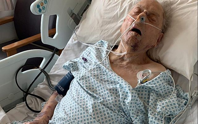 Metropolitan Police photo of Second World War veteran Peter Gouldstone, 98, who was injured during a violent robbery at his home in north London last month, who has died, the Metropolitan Police said. Photo credit: Metropolitian Police/PA Wire