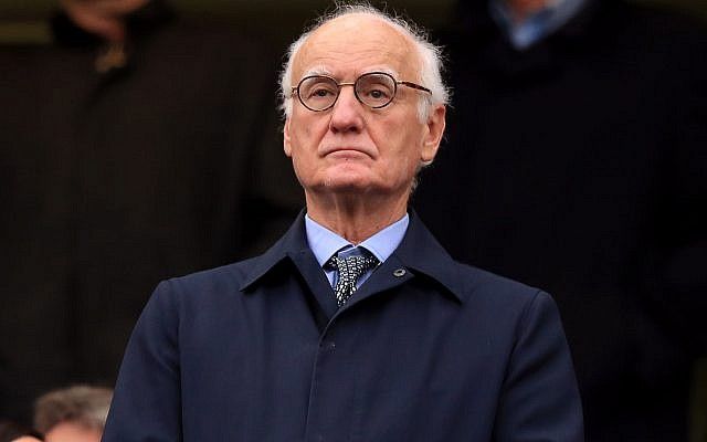 Bruce Buck, Chelsea Chairman. Photo credit: Mike Egerton/PA Wire.