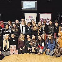 Thirty Jewish and Muslim women unite