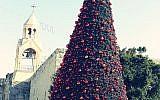 Bethlehem Christmas tree. Source: Wikimedia. Credit: علاء (Alaa)