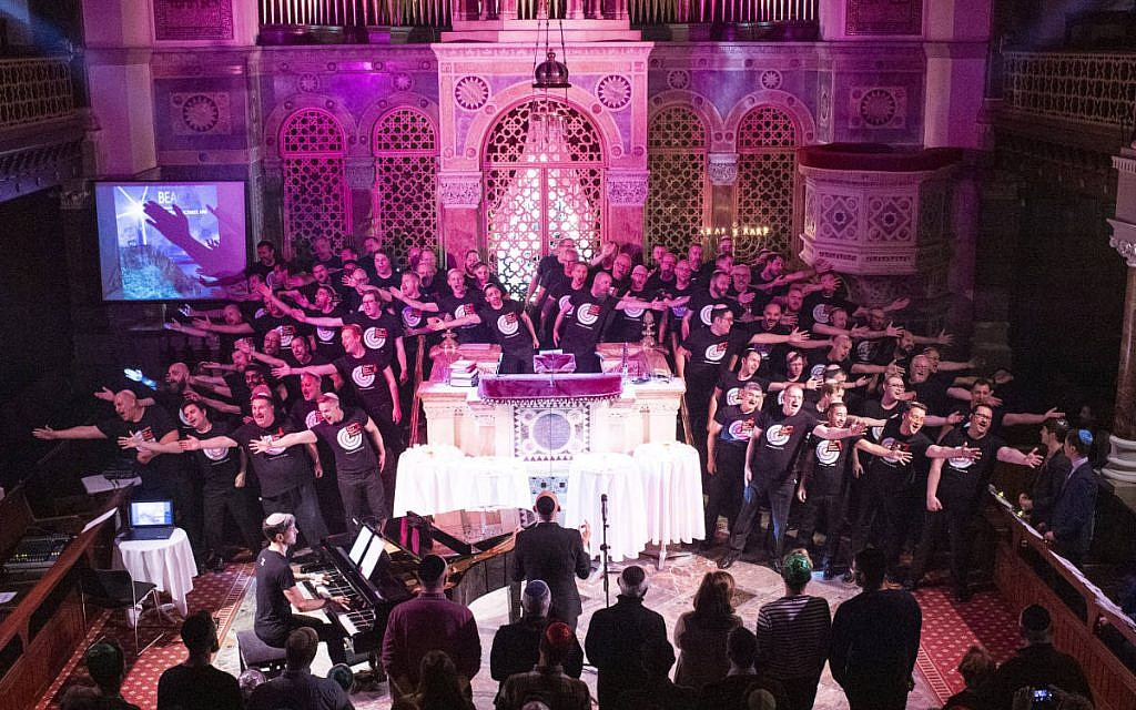 World Aids Day concert at West London Synagogue, with Mark Regev,  in partnership with JAT and Israel AIDS Task Force. Photo credit: Elliott Franks