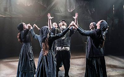 Fiddler On The Roof, starring Andy Nyman as Tevye