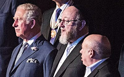 Prince Charles, the Chief Rabbi and Natan Sharansky at the Royal Albert Hall for the Israel 70 concert   (C) Blake Ezra Photography Ltd.