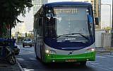 Kavim bus on route 112 to Modi'in. (Source: Wikipedia. Author: Danbus43Maalit72)