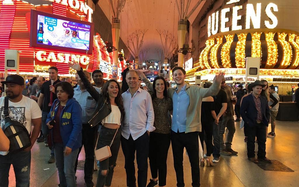 Louisa and her family in Vegas!