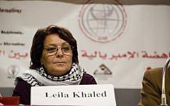 Palestinian terrorist Leila Khaled