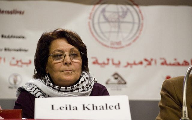Palestinian terrorist Leila Khaled, the eponymous inspiration for a new South African road.