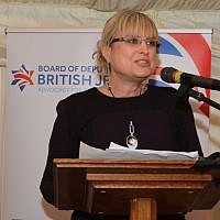 Marie van der Zyl, president of the Board of Deputies