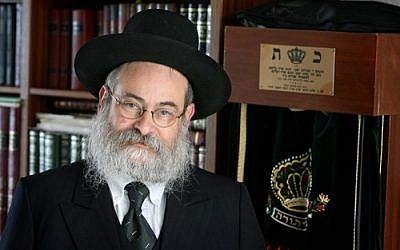 Rabbi Binyomin Jacobs. Source: Wikimedia Commons. Credit: Meshulam