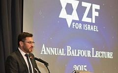 Paul Charney at the ZF Balfour Lecture