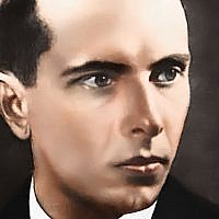 Colourised picture of Stephan Bandera (Author: CC-BY. Source: Wikimedia Commons)