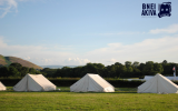 Bnei Akiva tents during a trip abroad