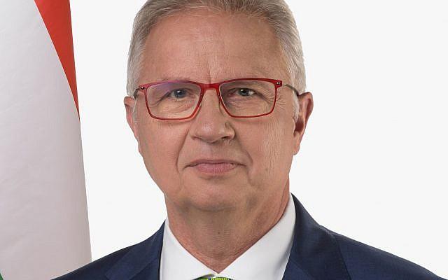 Hungarian Justice Minister László Trócsányi