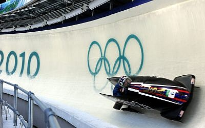 Olympic two-man bobsled competition. Photo by Tim Hipps, FMWRC Public Affairs via Wikipedia