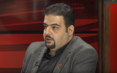Haifa city council member Raja Za'atra of the Joint (Arab) List. (Screenshot: YouTube)