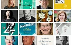 The authors and book covers of the longlisted candidates