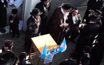 Screenshot from Youtube of the Lev Tahor sect in Guatemala