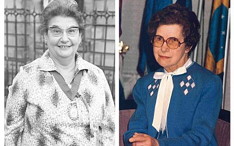 Left: Annie Altschul, born in Vienna in 1919, trained a a mental health nurse in Mill Hill and pioneers psychiatric research. Her reports are widely cited. Right: Lisbeth Hockey, expelled from Vienna , became the UKs first director of nursing research in Edinburgh