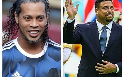 Ronaldo and Ronaldinho (Wikipedia)