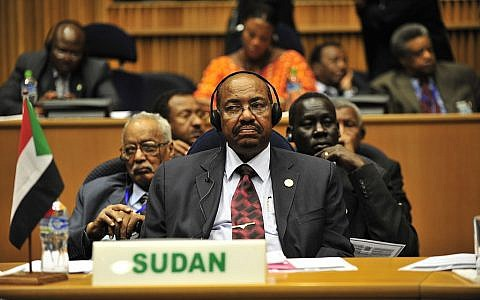 Omar Hassan Ahmad al-Bashir, the president of Sudan, listens to a speech during the opening of the 20th session of The New Partnership for Africa's Development in Addis Ababa, Ethiopia, Jan. 31, 2009. (Source: WIkimedia Commons. Credit: U.S. Navy photo by Mass Communication Specialist 2nd Class Jesse B. Awalt/Released)