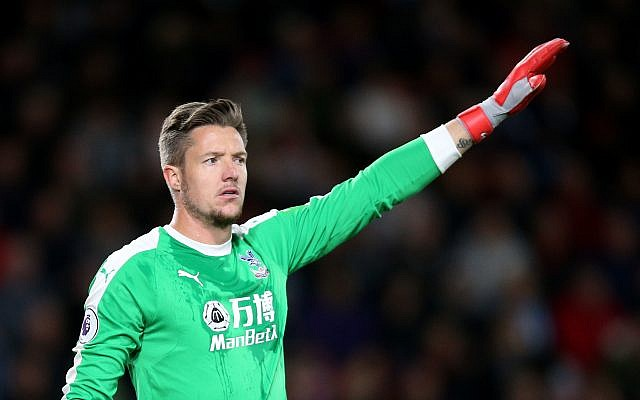 Crystal Palace goalkeeper Wayne Hennessey. Photo credit: Nigel French/PA Wire.