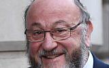 Chief Rabbi Ephraim Mirvis. Photo credit: Stefan Rousseau/PA Wire
