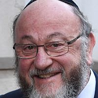 Chief Rabbi Ephraim Mirvis. Photo credit: Stefan Rousseau/PA Wire
