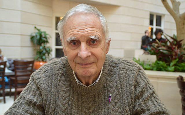 Holocaust survivor Steven Frank.  Photo credit: Holocaust Memorial Day Trust/PA Wire