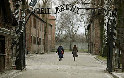 Auschwitz. (Credit: Dave Thompson/PA Wire)