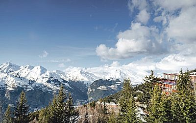 A stunning view of the French Alps