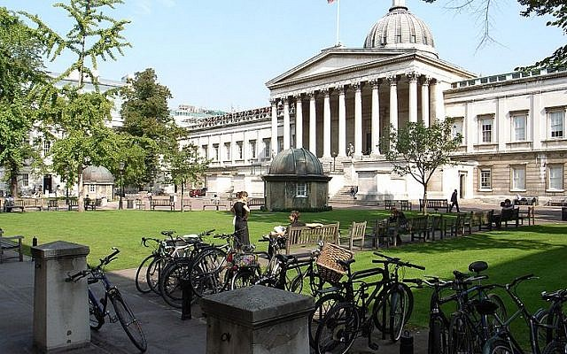 Part of UCL's campus (Credit: Wikipedia Commons. Author: 	Steve Cadman)