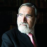 Chief Rabbi, Lord Sacks. Credit: Blake-Ezra Photography