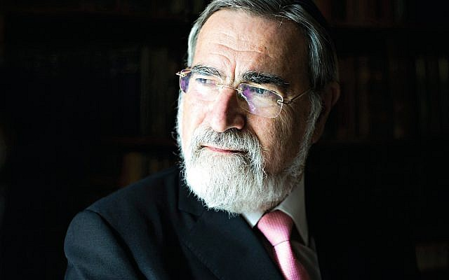 Former Chief Rabbi, Lord Sacks. Credit: Blake-Ezra Photography