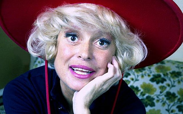 Carol Channing (Source: Wikipedia. Credit: Allan Warren)