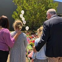 Australian Prime Minister Scott Morrison took to Twitter, to post a picture of himself at  the Polaris Town Centre at Bundoora, to pay respects and grieve the loss of Aiia