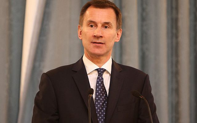 Foreign Secretary Jeremy Hunt at an annual HMD event. Credit: Foreign & Commonwealth Office